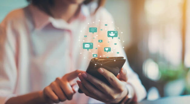 Managing social media pages